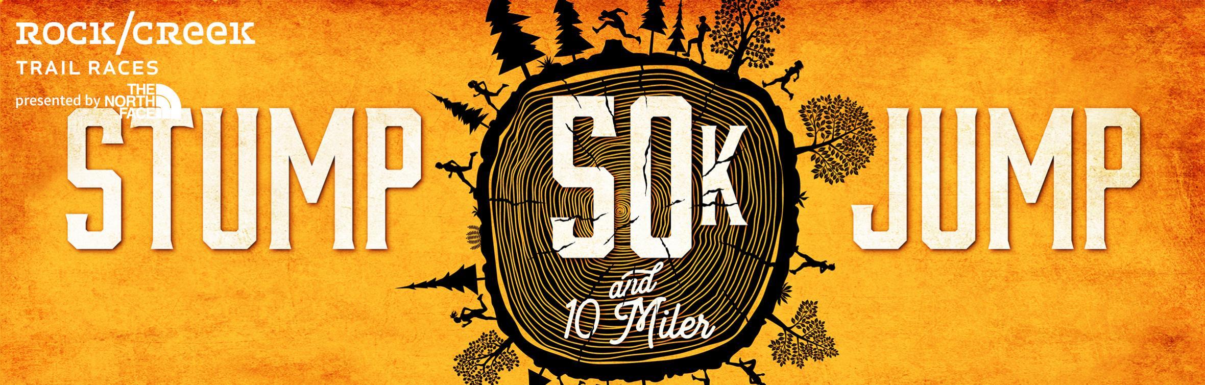 stump jump 50k and 10 miler