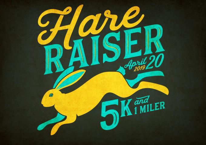 hare raiser 5k and 1 miler aprile 20 2019